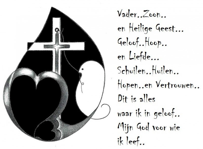 New Geloof,Hoop en Liefde. – Mensbootje #WY61